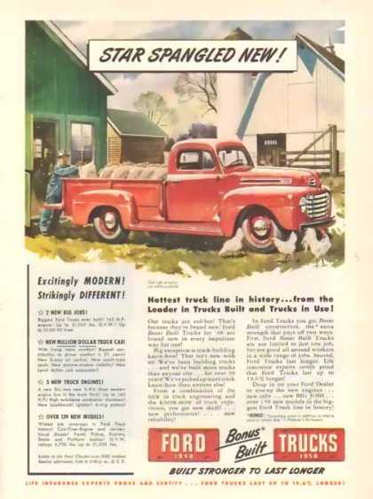 Ford Trucks – Star Spangled New (1948)