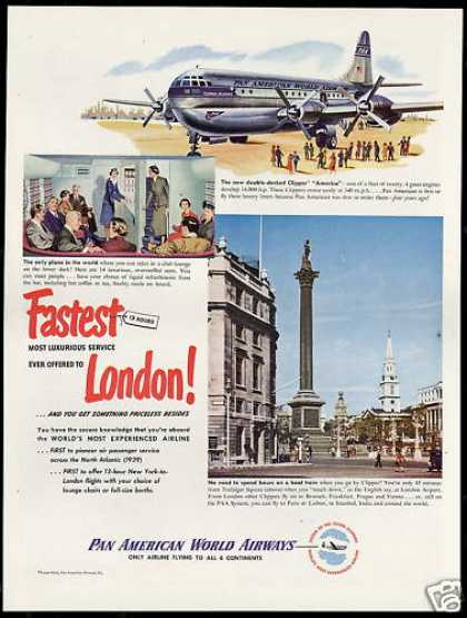 PAA Pan American World Airways London Clipper (1949)