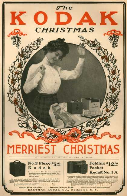 Kodak &#8211; The Kodak Christmas (1900)