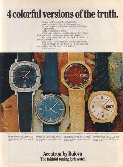 Bulova's Accutron Watch (1971)