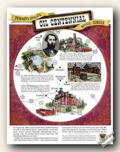 Pennsylvania's Oil Centennial Magic Circle (1959)