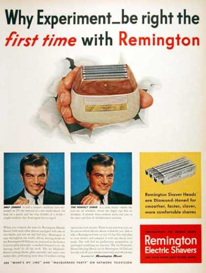 Remington Shavers (1955)