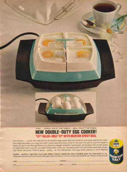 Morton Salt – Egg Cooker Offer (1963)