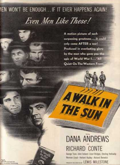 A Walk in the Sun (1946)