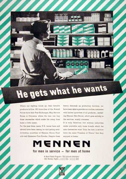 Mennen Products (1943)