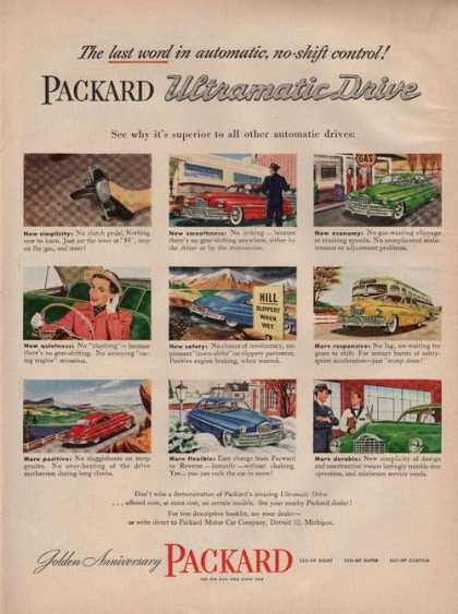 Packard Ultramatic Drive Car (1949)