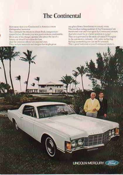 Lincoln Continental Car – White (1966)