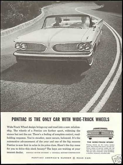 Pontiac Bonneville Convertible Photo Vintage (1959)