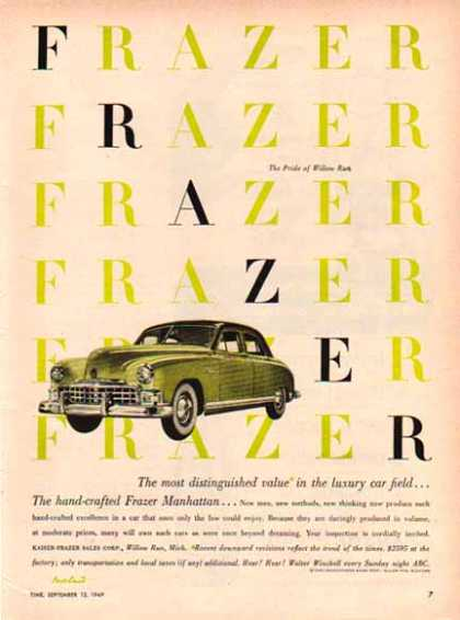 Frazer Car – Frazer Manhattan Pride of Willow Run (1949)