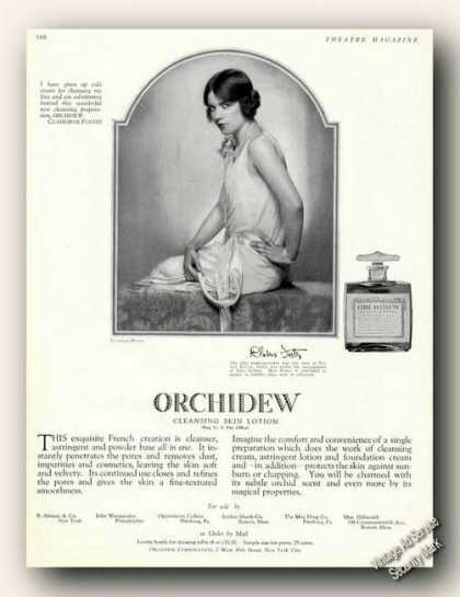 Clairborne Foster Photo Antique Orchidew (1929)