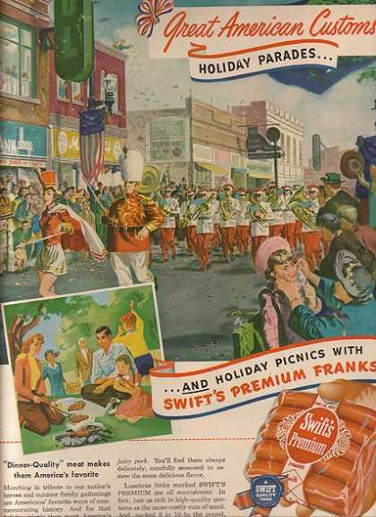 Swift's Premium Franks (1950)