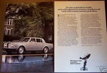 Rolls-royce Silver Shadow Ii Classic Car (1980)