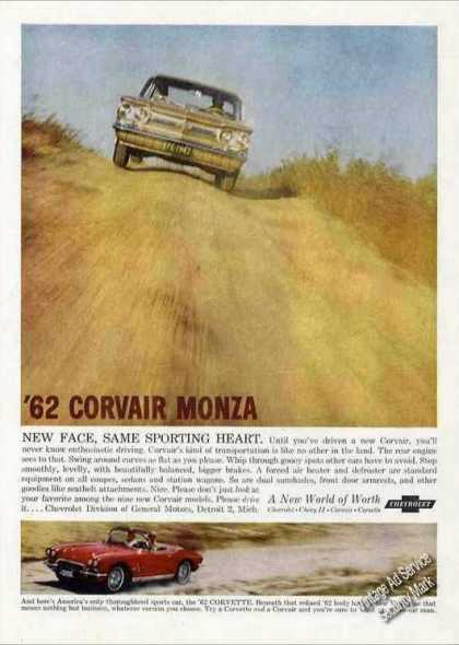 Chevrolet Corvair Monza & Corvette Photos Car (1962)