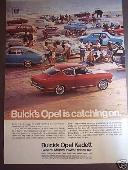 Cars Party On the Beach Photo Buick Opel Kadett (1967)