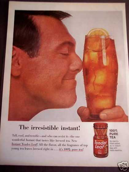 Instant Tender Leaf Iced Tea Beverage (1963)