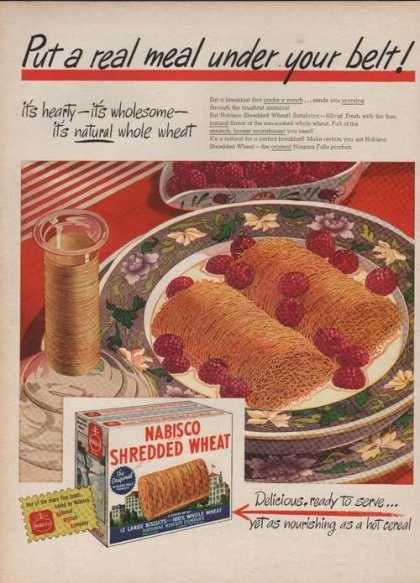 Nabisco Shredded Wheat Cereal (1946)