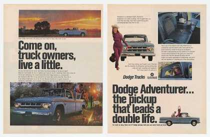 Dodge Adventurer Pickup Truck (1967)