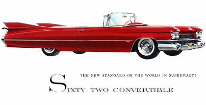 Cadillac Series 62 Convertible (1959)