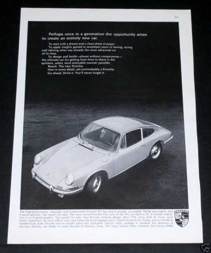 Porsche 911, Entire New Car (1965)