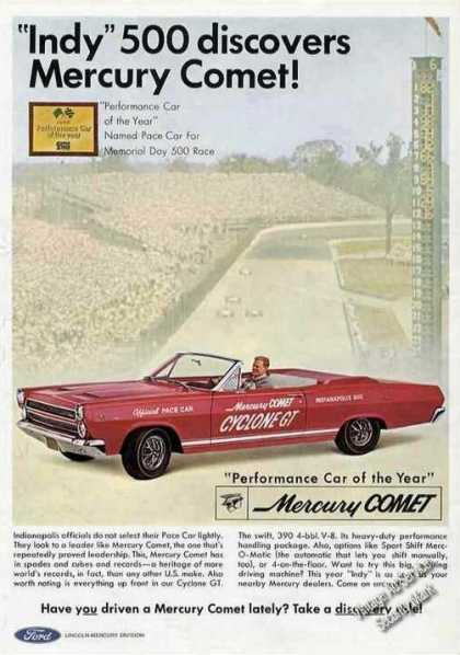 "Mercury Comet ""Indy"" 500 Pace Car (1966)"