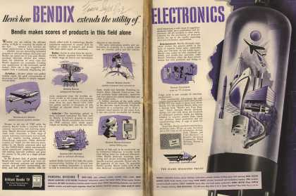 Bendix Aviation Corporation's Electronics – Here's How Bendix Extends the Utility of Electronics. Bendix Makes Scores of Products in This Field Alone. (1952)