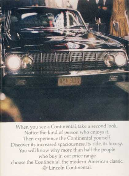 Ford's Lincoln (1964)