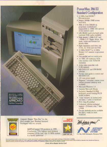 Northgate Computer – Power Max 386/33 (1990)