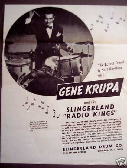 Gene Krupa His Slingerland Radio Kings Music (1946)