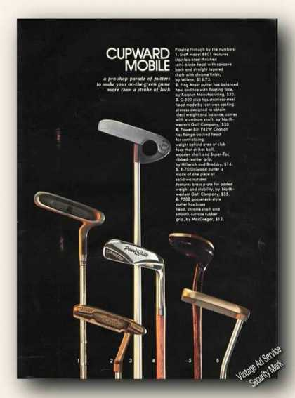 Putters Photo Cupward Mobile Golf Print Feature (1971)