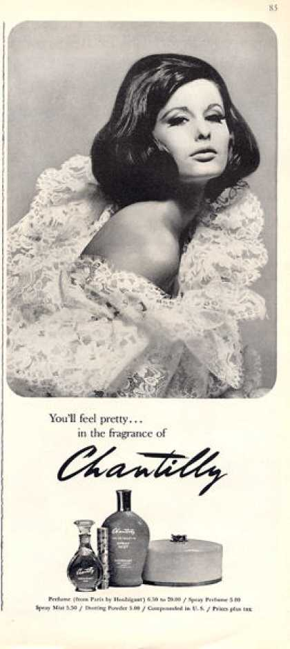 Chantilly Perfume Bottle (1964)