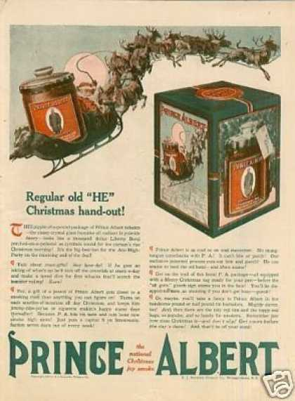 Prince Albert Tobacco Color (1918)