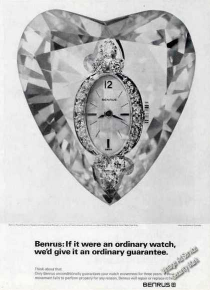 Benrus Royal Diamond Amelia Watch (1967)