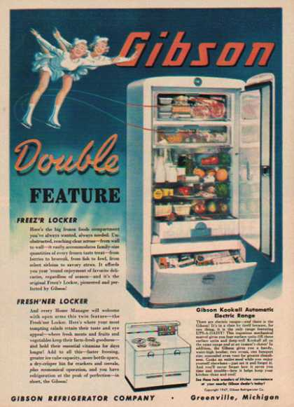 Gibson Refrigerator – Greenville, Michigan (1947)
