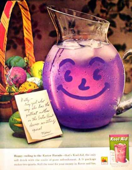 Kool-Aid Easter – Five-cent package (1962)
