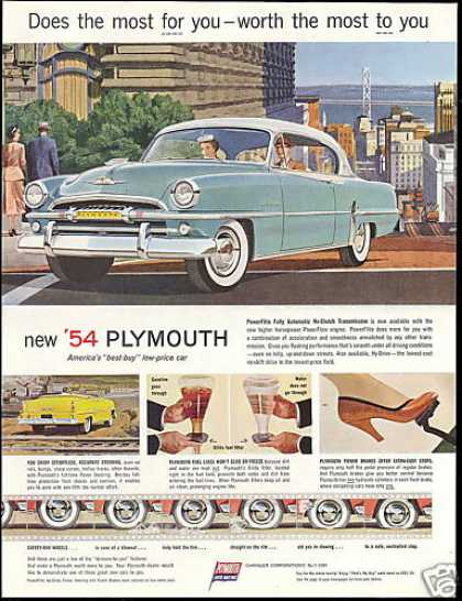 Plymouth America's Best Buy Price Car (1954)