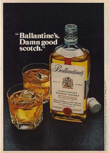 Ballantine's Blended Scotch Whiskey (1978)
