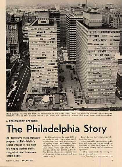 """The Philadelphia Story"" Article (1965)"