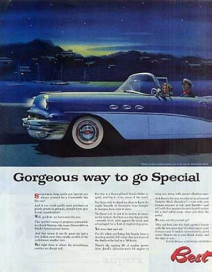 Buick Special Convertible Car (1956)
