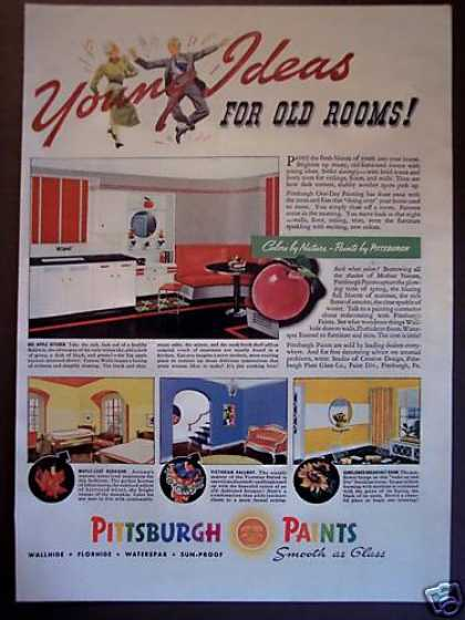 Pittsburgh Paints Retro 30s Kitchen Decor (1938)