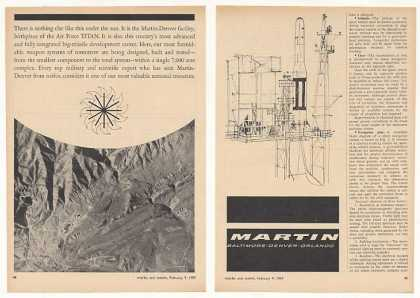 Martin Denver Air Force Titan Missile Center 2P (1959)