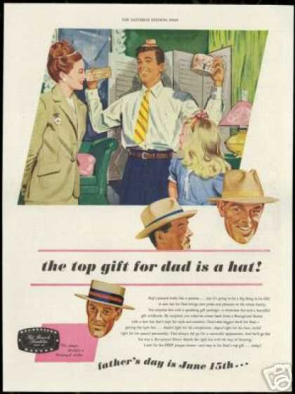 Fathers Day HRF Recognized Hatter Hat (1947)