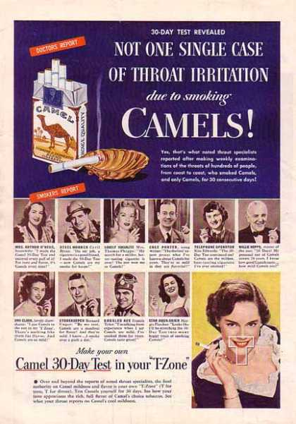 Camels Cigarettes – Doctors and Smokers report (1948)