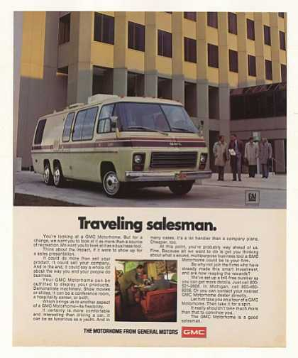 GMC Motorhome Traveling Salesman Photo (1977)