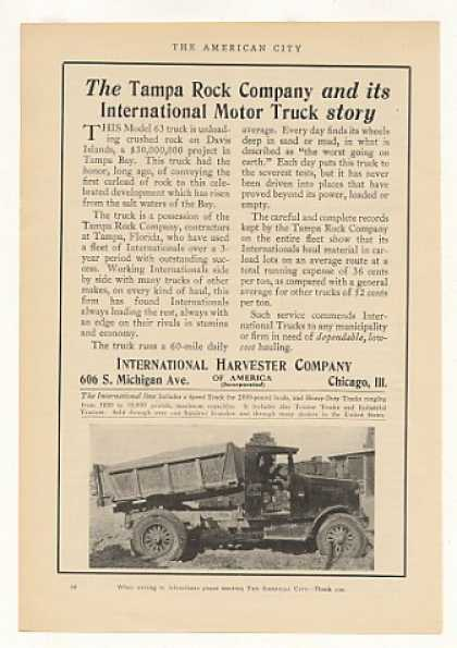 International Harvester Model 63 Truck Photo (1925)