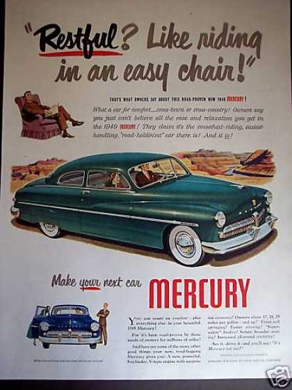 Mercury Easy Chair Comfort Car (1949)