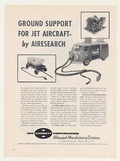 Garrett VW Bus Gas Turbine Jet Aircraft Starter (1959)