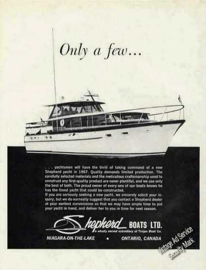 Shepherd Limited Production Yachts Ontario (1967)