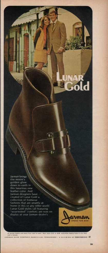 Jarman Lunar Gold Shoes for Men (1969)