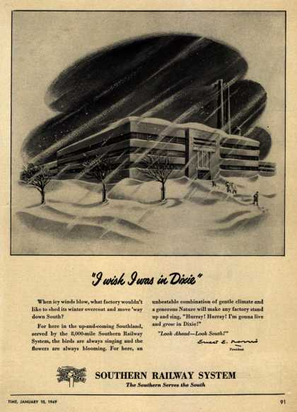 "Southern Railway System's Industrial South – ""I wish I was in Dixie"" (1949)"