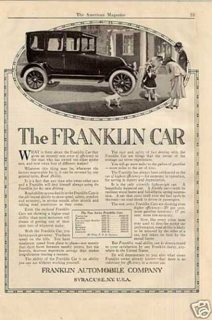 Franklin Car (1916)